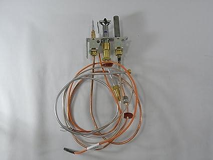 amazon com empire direct vent fireplace propane pilot assembly with rh amazon com