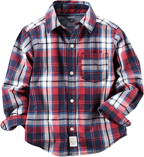 Carters Boys Woven Buttonfront 263g574