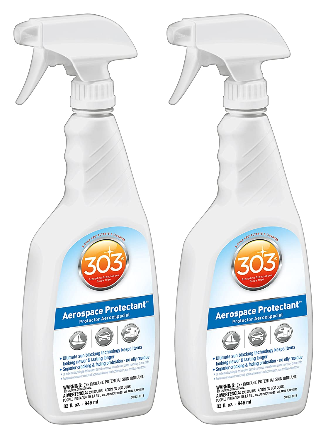 303 Aerospace Protectant 32 Oz Pack of 2 Anti-Fade Spray