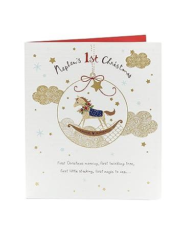 Weihnachtskarte für Neffen: Amazon.de: Bürobedarf & Schreibwaren