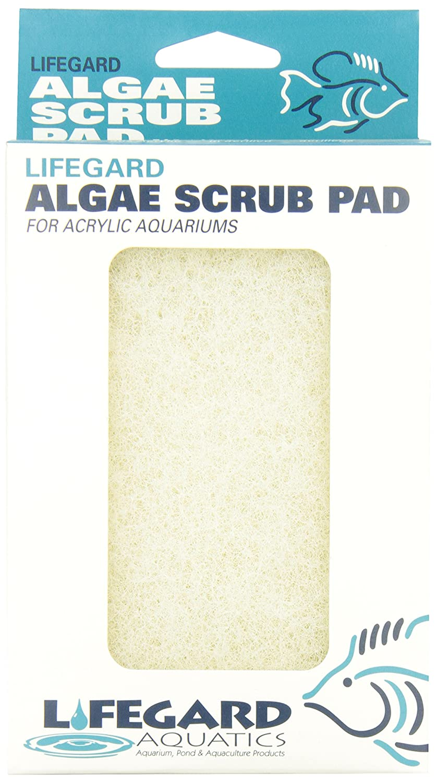 Lifegard Aquatics 4-Inch by 6-Inch White Algae Pad R270913