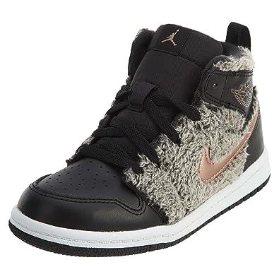 3d8e681e22ae Jordan 1 Retro High GT Toddler s Shoes Black Metallic Bronze White  705324-022