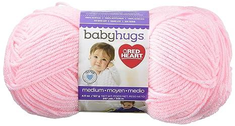 Abrigos Hilados Corazón Rojo Baby Hugs Mediano Pinkie, acrílico, 3 Piezas