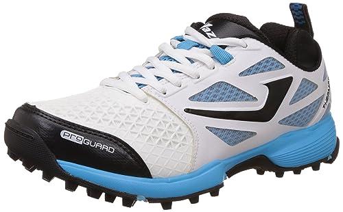 74c1c56d98a Jazba Mens SKYDRIVE 110 Cricket Shoes Rubber Spikes  Amazon.co.uk ...