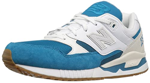 New Balance Men s 530 Summer Waves Collection Lifestyle Sneaker,  Teal White, ... 15f676b162cb