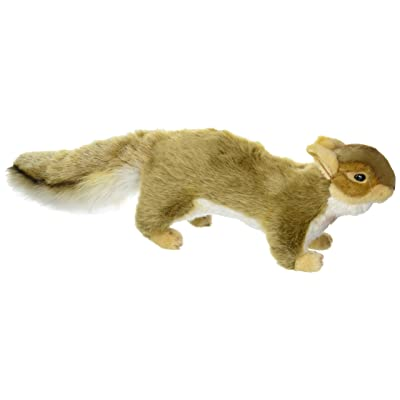 HANSA Squirrel Plush, Brown: Toys & Games [5Bkhe1806030]