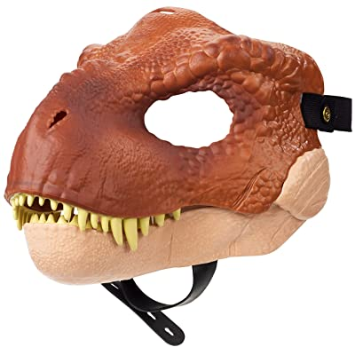 Jurassic World Tyrannosaurus Rex Mask: Mattel: Toys & Games