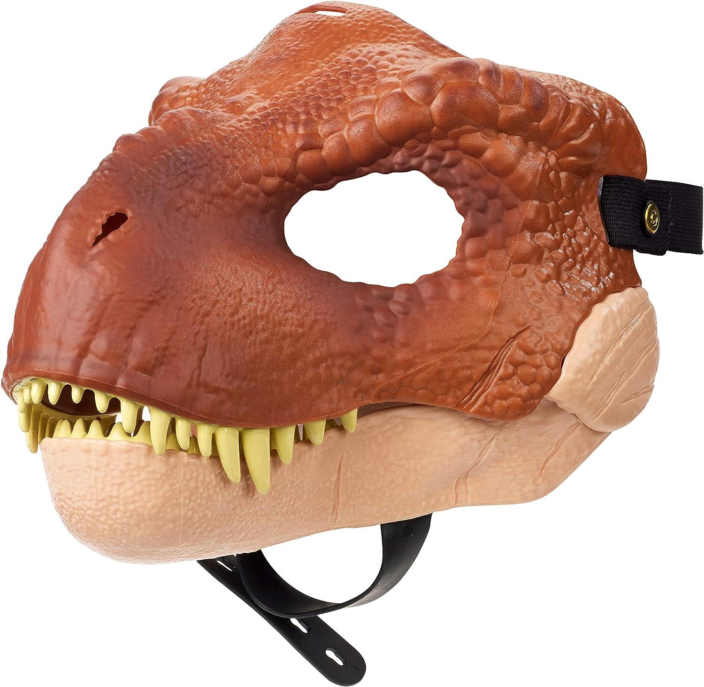 Amazon Com Jurassic World Tyrannosaurus Rex Mask Mattel Toys