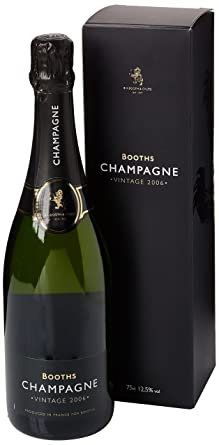 Booths 2006 Champagne Brut Vintage White Wine 75 Cl Amazoncouk