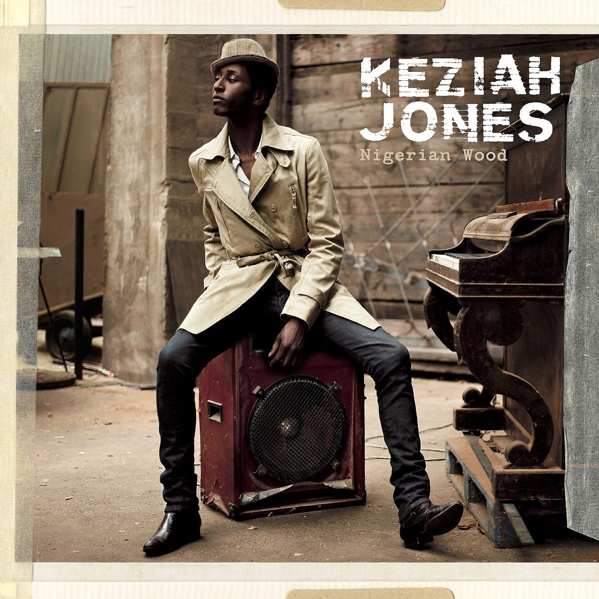CD : Keziah Jones - Nigerian Wood (France - Import)