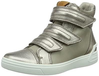 d5cfbbd384886d Ecco Mädchen Ginnie Combat Boots  Amazon.de  Schuhe   Handtaschen