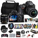 Nikon D3500 DSLR Camera with 18-55mm Lens (1590) + 64GB ExtremePro Card + 2 x EN-EL14a Battery + Corel Software + Case + Filt