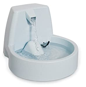 PetSafe Drinkwell Original or 1/2 Gallon Pet Water Fountain - Drinking Fountain for Cats and Small Dogs