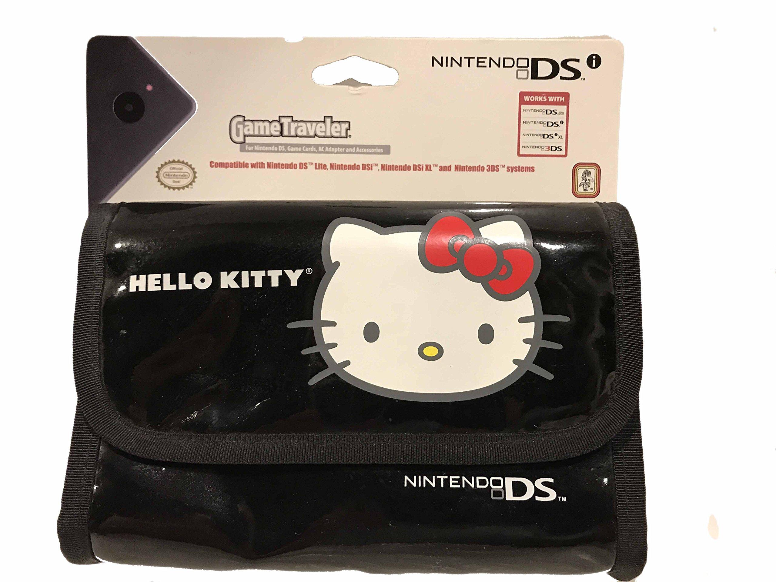 Hello Kitty Game Traveler Case for Nintendo 3DS, 3DS XL, 3DSi, DSi XL Systems