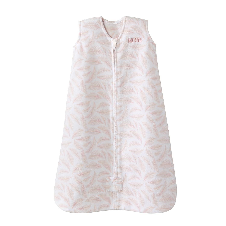 Halo Sleepsack Wearable Blanket Micro Fleece - Pine Leaves Pink, Size Large 4177