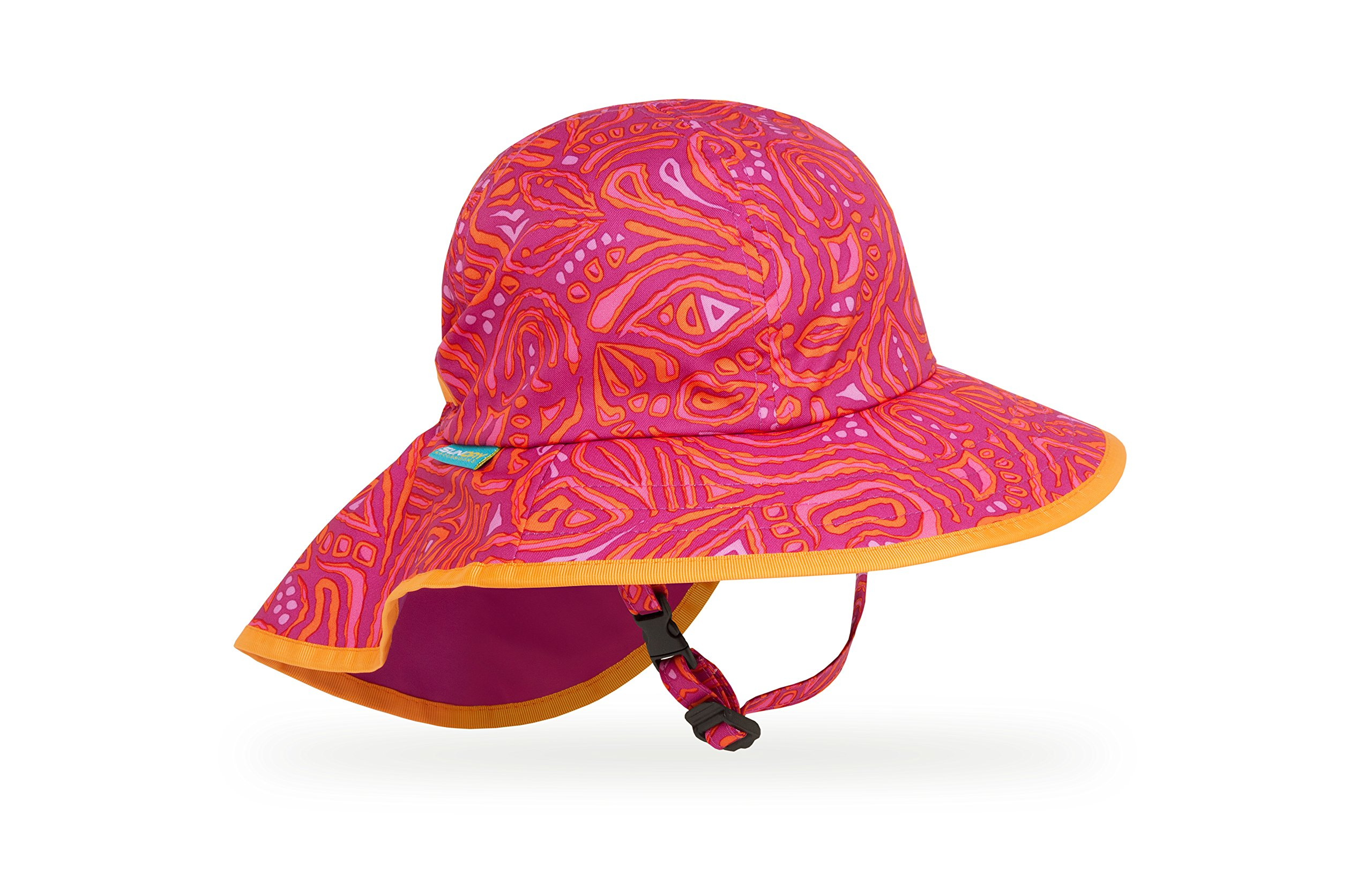 Sunday Afternoons Kids Play Hat, Pink Fossil, Small