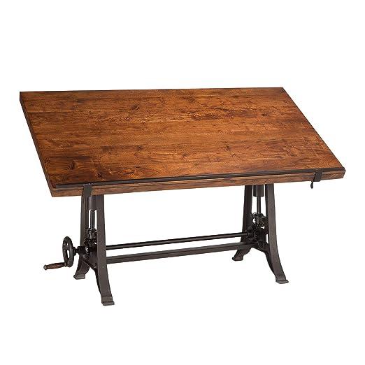 Mesa de dibujo vintage | Wellington escritorio industrial para ...