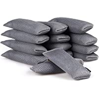 ANYI16 Natural Purifying Bags,[Upgraded] Bamboo Charcoal Bags,Shoe Deodorizer Activated Mini Charcoal Bags (14 Pack X…