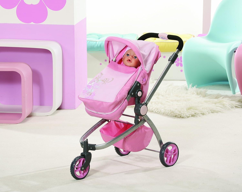 Zapf Création 805176 - Carrito para Baby Born, color rosa: Amazon.es: Juguetes y juegos
