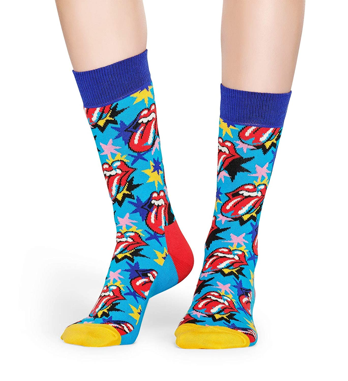Navy//giallo Happy Socks I Beatles Giallo Sottomarino Calzini