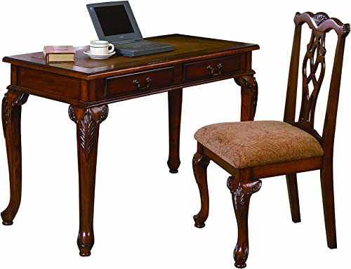 Crown Mark Fairfax Home office Desk Chair Set