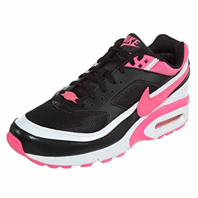 timeless design eb14c 94669 Nike Air Max Bw Big Kids Style Shoes   834224, Black Pink Blast-White, 7   Amazon.co.uk  Shoes   Bags