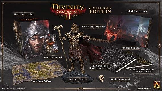 Divinity : Original Sin 2 II - Kickstarter Collector Edition (1000 copies) - PC Windows: Amazon.es: Videojuegos