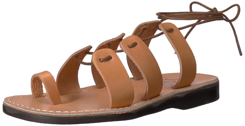 Jerusalem Sandals Women's Deborah Slide Sandal B075KZD333 37 Medium EU (6-6.5 US) Tan