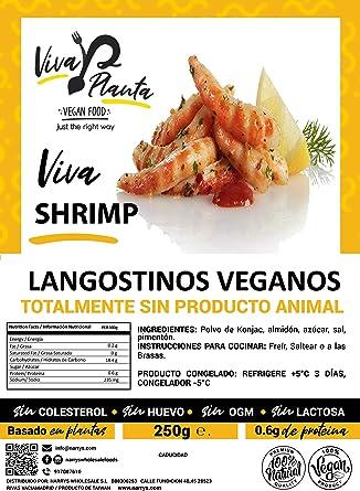 Langostinos Veganos 250g Viva Planta | Vegan | Sin carne ...