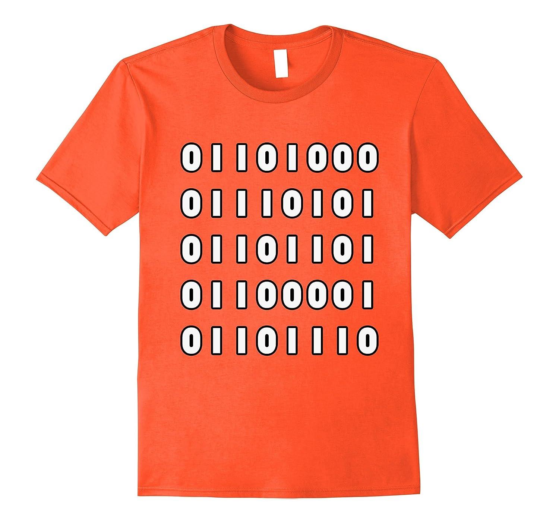 Human design t shirt -  Human Binary Code Funny Programmer Computer Science T Shirt Best Design T Shirt