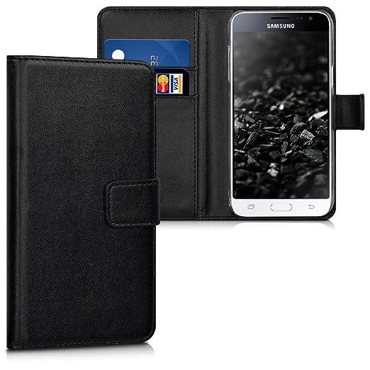 13 opinioni per kwmobile Custodia portafoglio per Samsung Galaxy J3 (2016) DUOS- Cover a libro