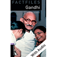 Gandhi - With Audio Level 4 Factfiles Oxford Bookworms Library