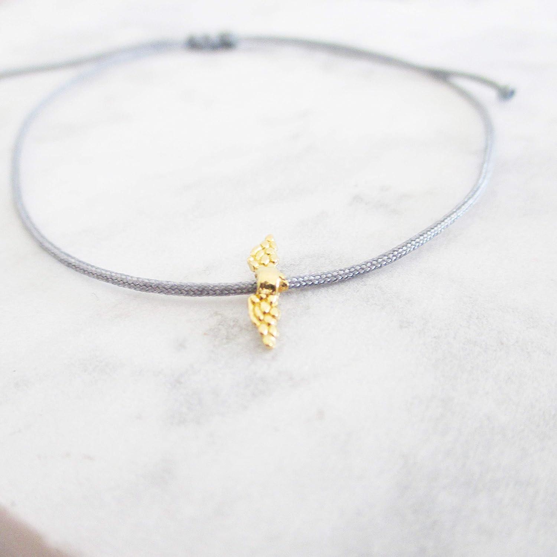 Gl/ücksarmband Gedenkarmband Trauerschmuck Sternenkind Stern Armband mit Sternchen Sterlingsilber Hellblau Weihnachtsgeschenk