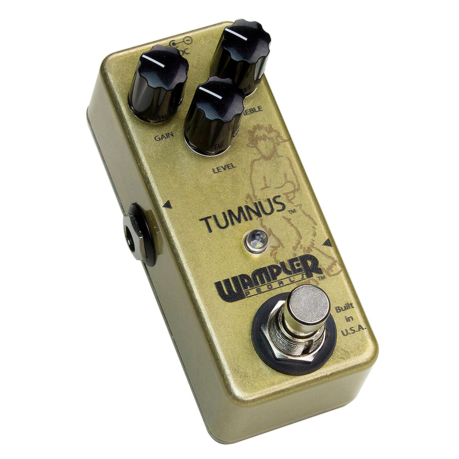 wampler tumnus overdrive guitar effects pedal musical
