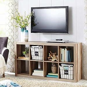 Modern Better Homes and Gardens 8-Cube Organizer, by Better Homes and Gardens (Beige) (Beige)