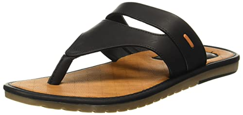 7288574c4582e BATA Men s Glance Th Black Flip Flops Thong Sandals-11 UK India (45 ...
