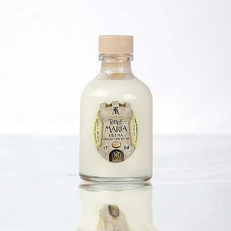 Botellita Miniatura de Licor de Crema de Arroz con Leche Torre María | botella Rocío
