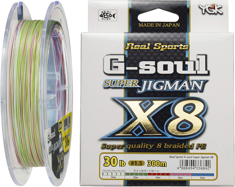 YGK G-SOUL X8 SUPER JIGMAN PE 300m 20lb #1