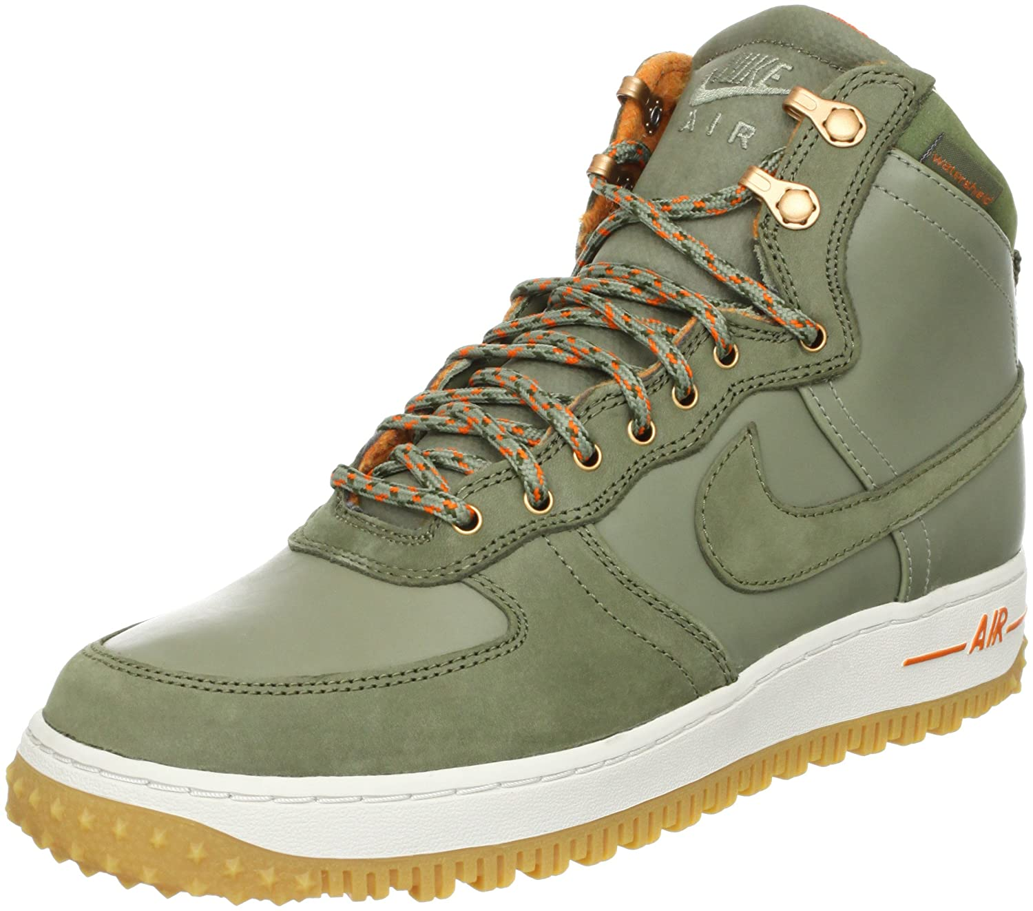 3cc48b0a96e Amazon.com | Nike Men's Air Force 1 Hi DCNS Military Boot Silver ...