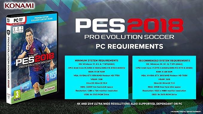 Buy PES 2018 (PC) Online at Low Prices in India | Konami