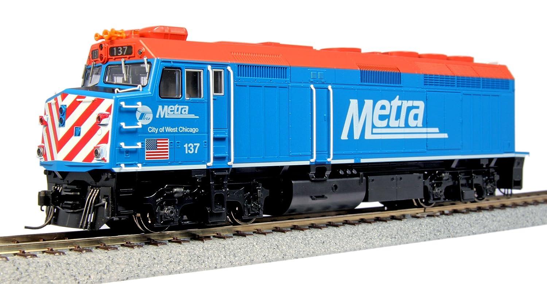 ■ KATO/カトー (37-6571) (HO) F40PH シカゴメトラ City of West Chicago #137 鉄道模型 外国車両 HOゲージ B0090TESIC