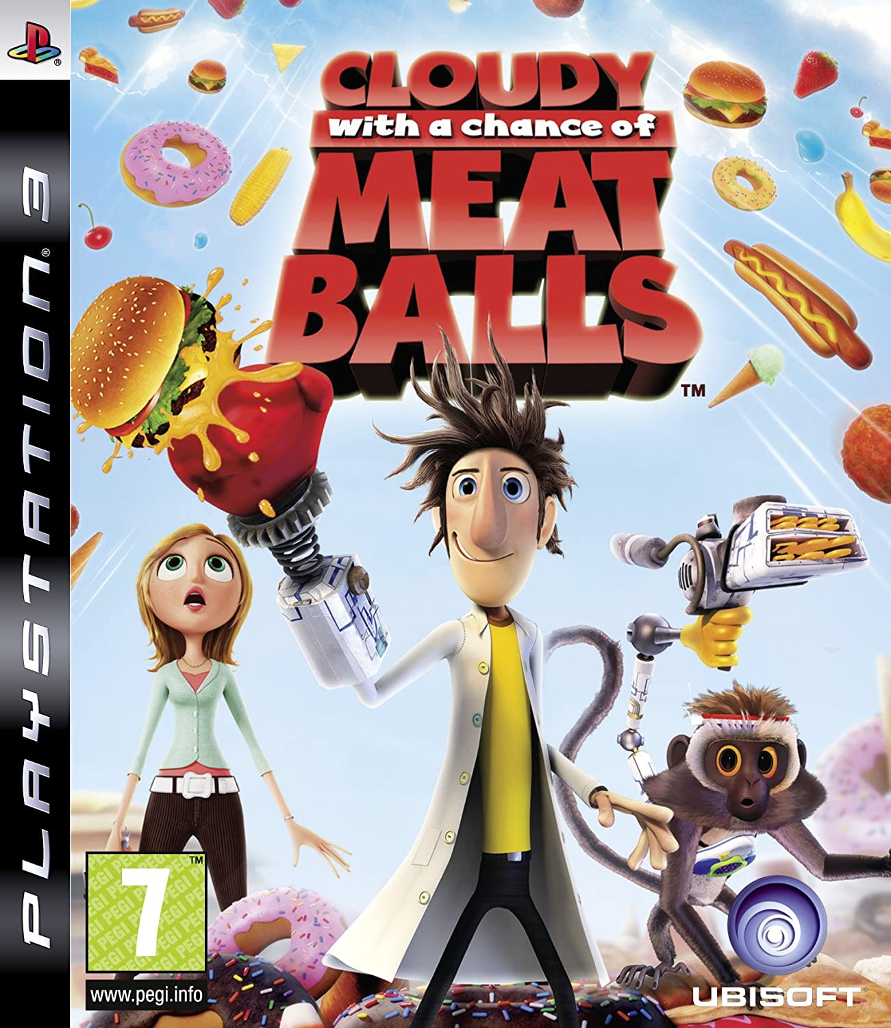 Cloudy With A Chance Of Meatballs PS3 Amazoncouk PC Video Games