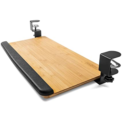 Clamp On Keyboard Tray I Ergonomic Keyboard And Mouse Under Desk Drawer Slide Keyboard Tray Under Desk Desk And Table Extender Great For Sit