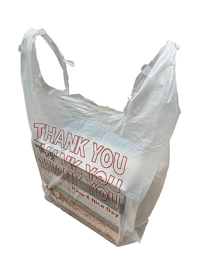 Amazon.com: HDPE Bolsas para camisetas, bolsas de ...