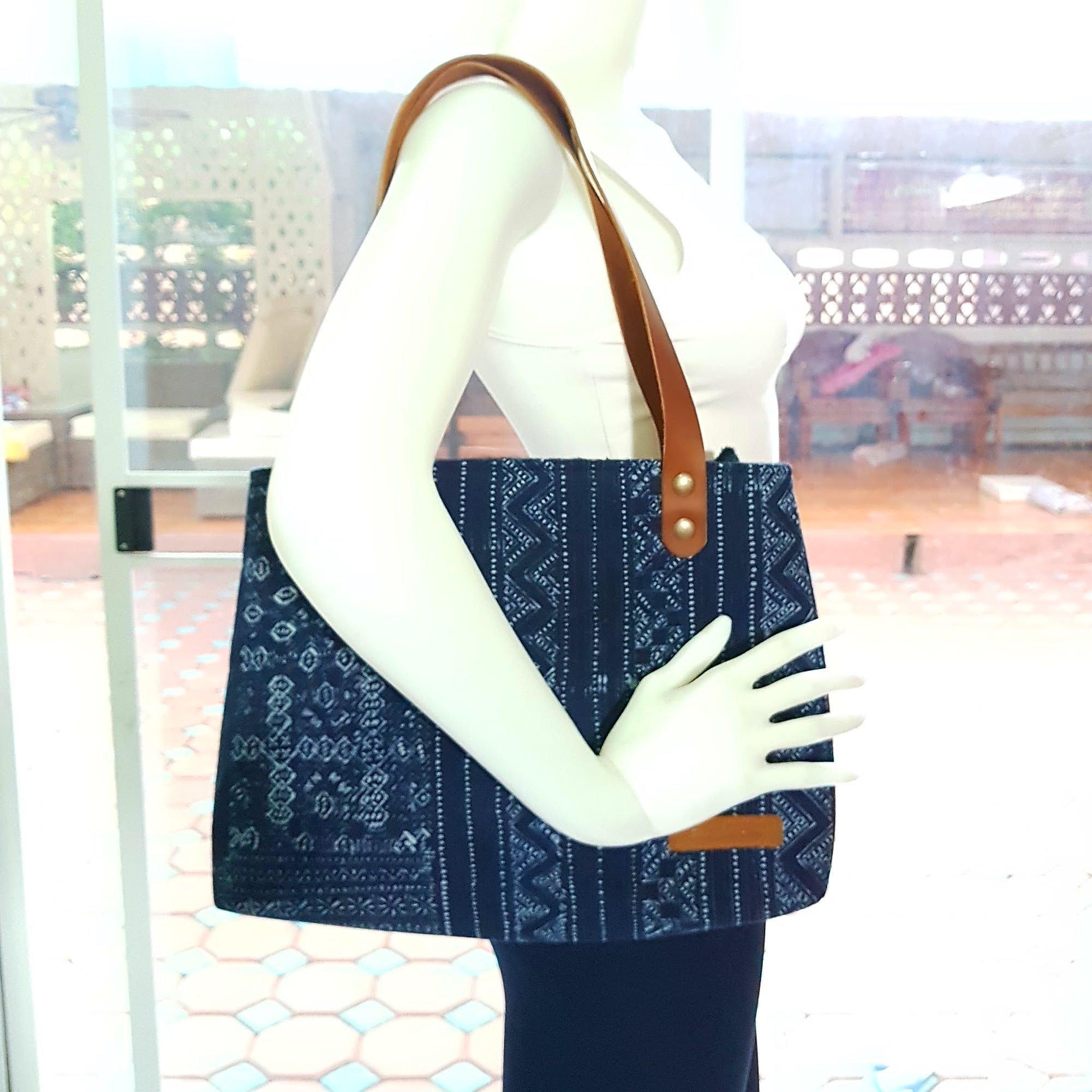 Bohemian / Handbags / Purses / Tote bags / Anniversary Gifts / Christmas Gift Ideas / Blue / Indigo