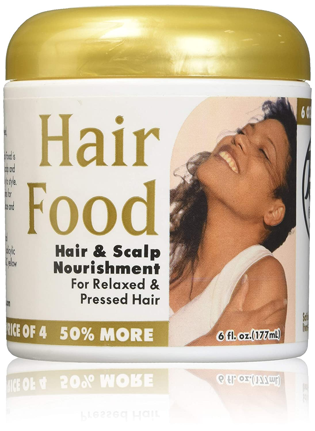 Bronner Brothers BB Food and Scalp Nourishment for Relaxed & Pressed Hair, 6 Ounce