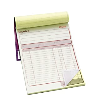 Pukka Pad, Duplicate Invoice Book 203 X 137mm Pack Of 5  Book Invoice