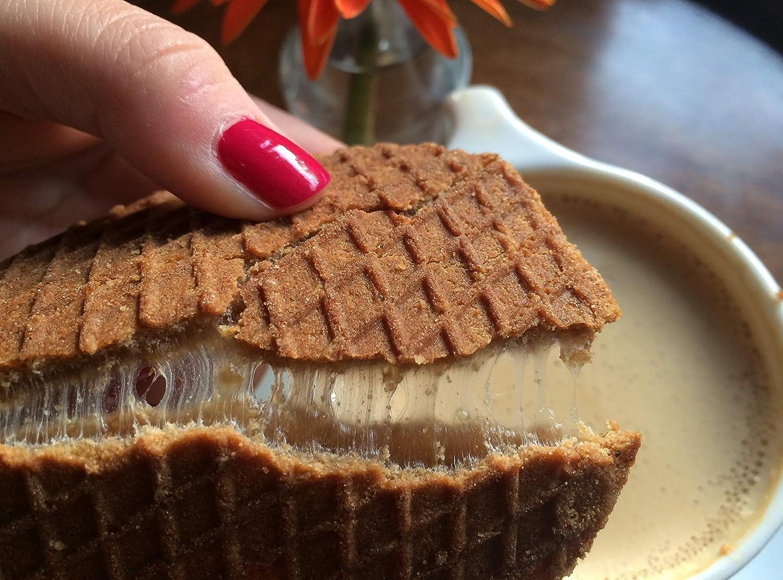 Swoffle - Galletas de gofres de chocolate oscuro (14 x 1.45 ...