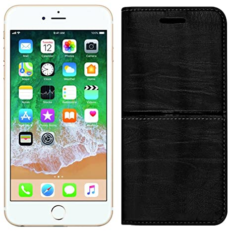 cheap for discount 37070 cc7df Roxel Apple iPhone 6 Plus Rich Boss Leather Flip Cover: Amazon.in ...