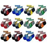 Amazon Price History for:Liwely 12 Pairs Baby Boys Socks, Ankle socks for 3 - 12 Months Infants, Sneaker socks